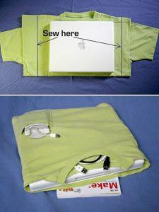 T-Shirt Laptop Case