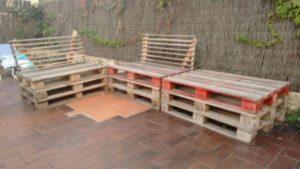 Wood Pallet Outdoor Furniture
