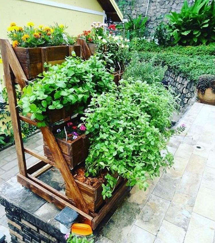 Wood Pallet Planter