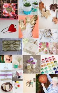 20 Exceptionally Shiny DIY Glitter Ideas & Projects