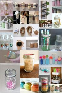 25 Genius Organization DIY Project Ideas Using Mason Jars