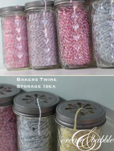 Bakers Twine Storage and Display