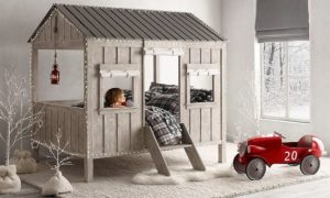 Barn Style Bedroom