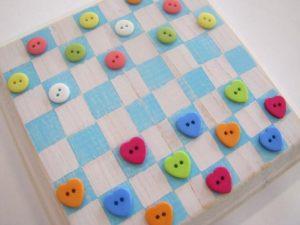 Button Checker Board