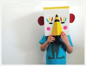 Cardboard Animal Mask