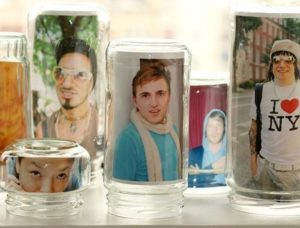 Glass Jar Frames