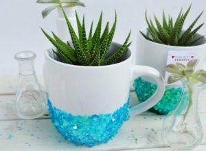 Glittered Mugs