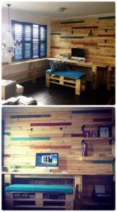 Pallet Home Office or Study Room