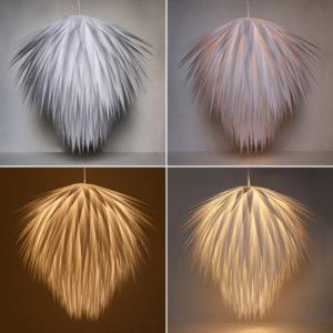 Paper Starburst Pendant Light