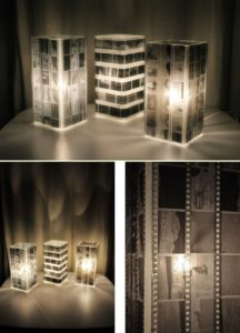 Photo Negatives Lamp