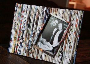 Repurpose Magazine Paper Reed Frames