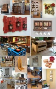 Top 20 Awesome Kitchen Pallet Project Ideas You Can DIY