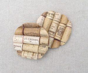 Vine Cork Coasters