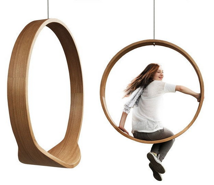 Circle Swing Rocking Chair