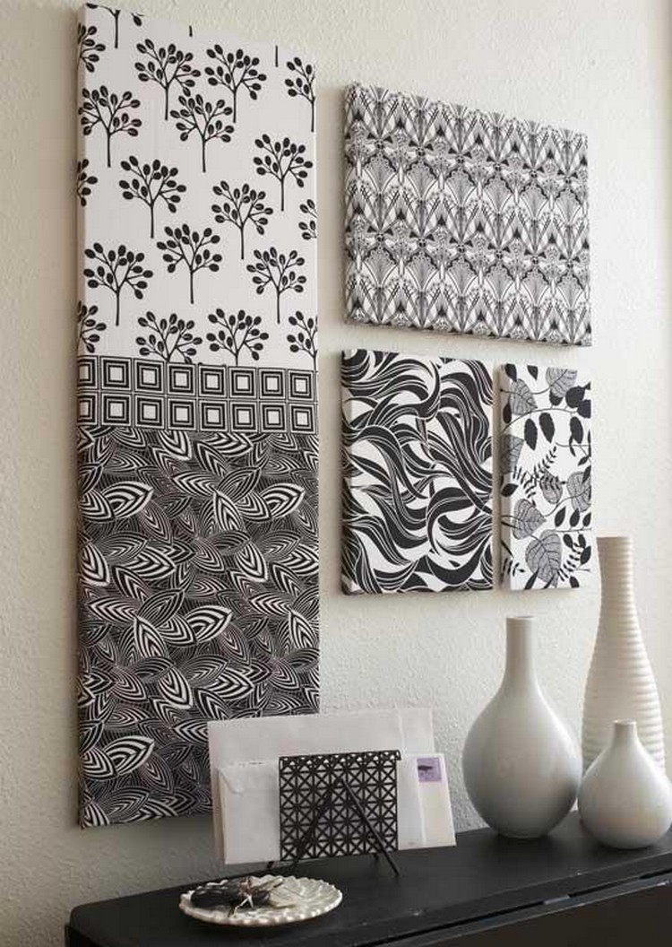Fabric Art Wall Hanging