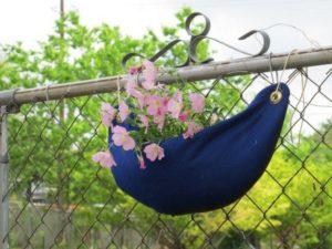 Hanging Felt Planter
