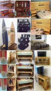 Huge Wooden Pallet Recycling Ideas