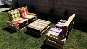 Pallet Furniture for Garden