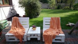 Pallet Sun Loungers for Your Outdoor