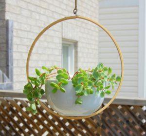 Rotating Hanging Planter