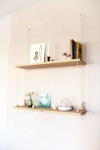 Scandinavian Inspired Swing Shelf
