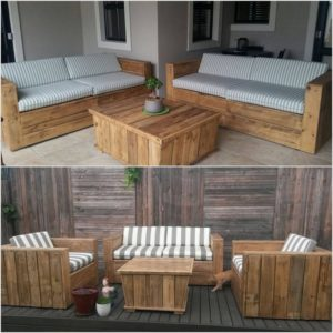 Shipping Pallet Recycled Furniture