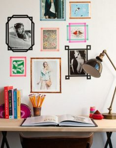 Tape Picture Frames