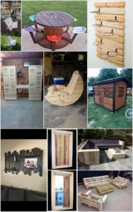 Things to Make with Old Wooden Pallets