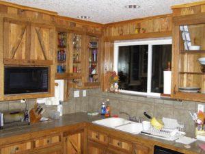 Wood Pallet Kitchen Corner