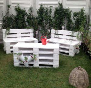 Adorable Pallet Outdoor Furniture