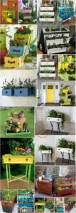 Creative Ways to Turn old Drawers into Planters