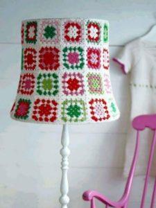 Crochet Lamp Art