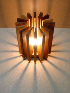 Cute Wooden Lamp