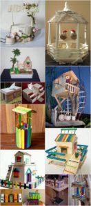 Cute and Easy Ice Cream Sticks Craft Ideas