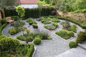 Delightful Backyard Garden Decor Idea