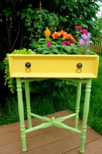 Elegant Planter Made with Used Drawer