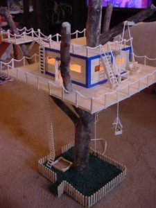 Ice Cream Sticks House for Kids
