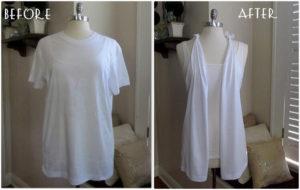 No Sew, T-Shirt Vest