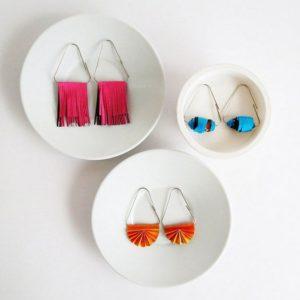 Paper Clip Earrings