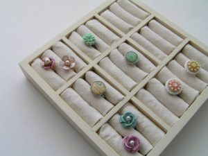 Ring Display from a Picture Frame