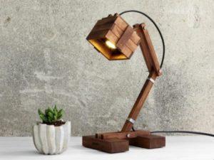 Study Wooden Lamp