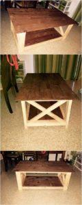 Stylish Pallet Table