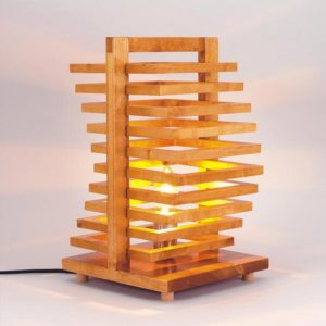 Unique Wood Lamp