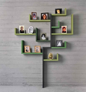 Wall Shelves for Photographs