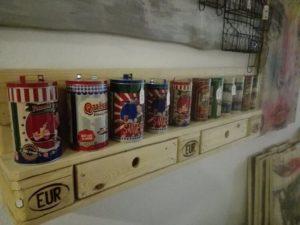 Wood Pallet Kitchen Shelf