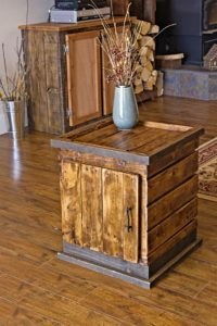 Wood Pallet Small Cabinet
