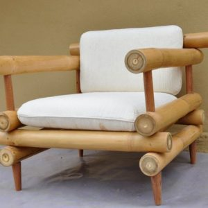 Wooden Bamboo Chair