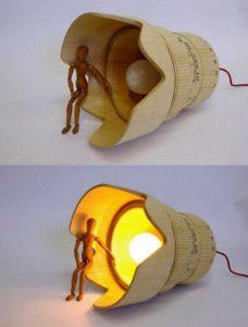 Wooden Lamp Design