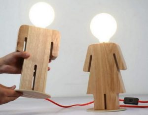 Wooden Lamp Ideas