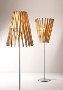 Wooden Sticks Lamp